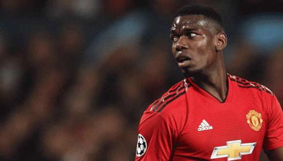 Paul Pogba era uno de los candidatos a irse del Manchester United al termino de la temporada. (Foto: AFP)