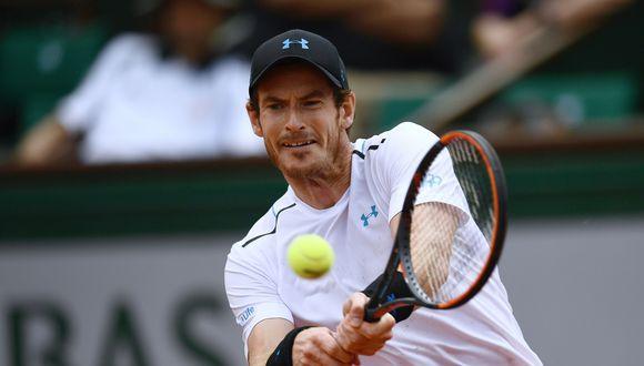 Andy Murray venció a ruso Karen Khachanov y avanzó a cuartos de final de Roland Garros. (Foto: AFP)