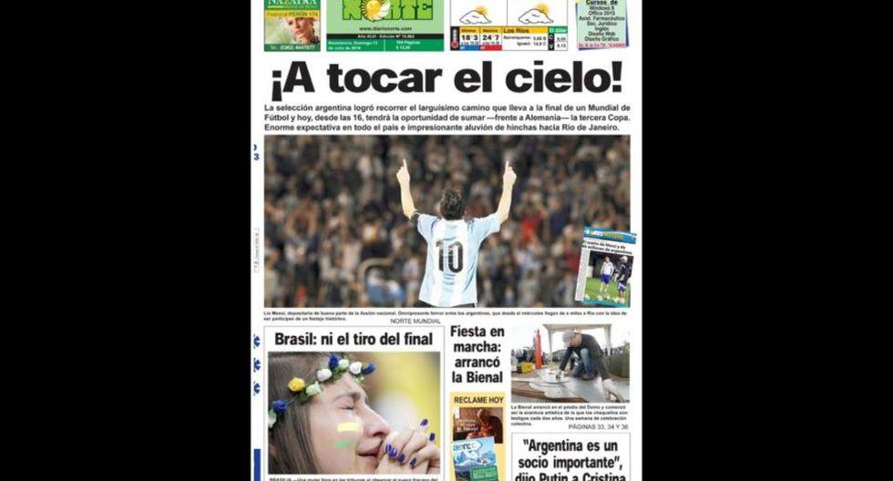 Final Copa del Mundo: así informan las portadas en el mundo - 9