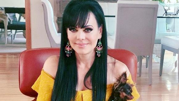 Maribel Guardia se salvó de sufrir un terrible accidente a causa de intensas lluvias en México  (Foto: Instagram)