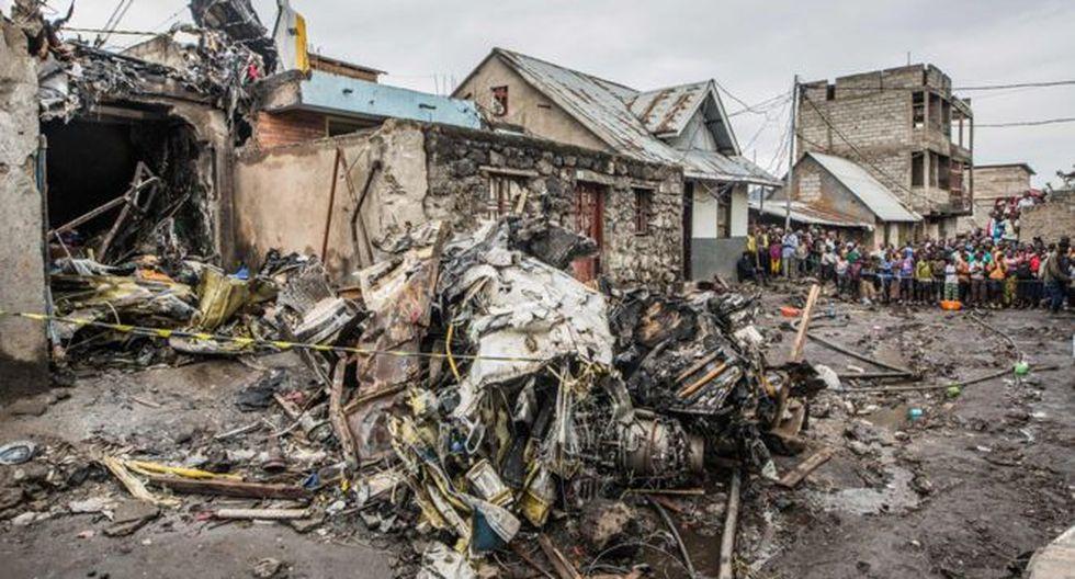 Accidentes recientes en República Democrática del Congo pusieron el foco sobre las fallas de seguridad en la aviación de ese país. (Foto: AFP)