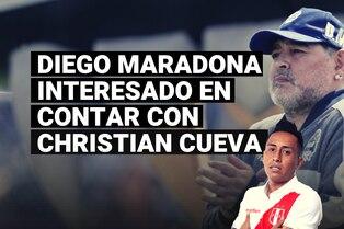 Pedido de Diego Maradona, Christian Cueva y su posible llegada a Gimnasia