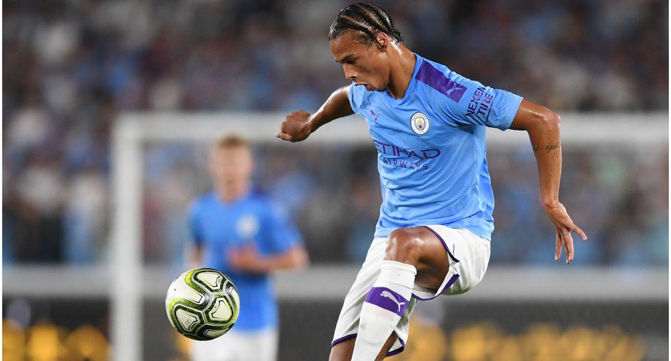 Edad 24: Leroy Sané juega en Manchester City y está valorizado en 110 millones de dólares (Foto AFP)