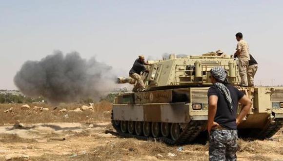 Libia: Estado Islámico pierde bastión tras bombardeo de EE.UU.