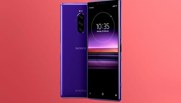 ¿Un smartphone de Sony con perforación en la pantalla? Así podría lucir su próximo celular. (Foto: Lets Go Digital)