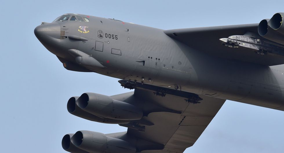 Estados Unidos envía los temidos bombarderos B-52 al Golfo Pérsico para disuadir a Irán de supuesto ataque. (AFP).