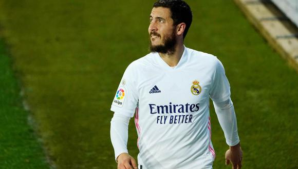 Real Madrid confirmó una nueva lesión de Eden Hazard. (Foto: Reuters)