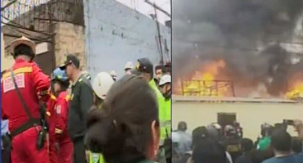 Cercado: incendio afecta vivienda del jirón Antonio Raymondi (Canal N)