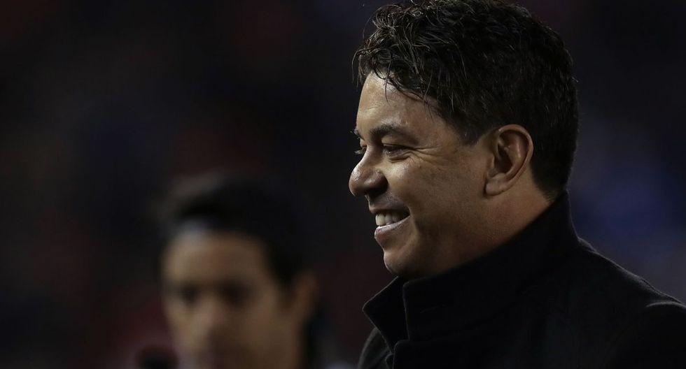 Marcelo Gallardo, entrenador de 43 años. (Foto: AFP)
