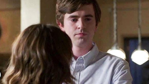 """Shaun consoló a Lea tras la pérdida de su hijo en el nuevo capítulo de """"The Good Doctor"""" (Foto: ABC)"""