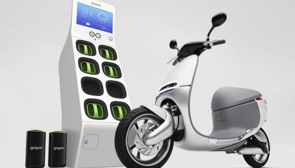 Gogoro, la moto eléctrica que no utiliza conexiones