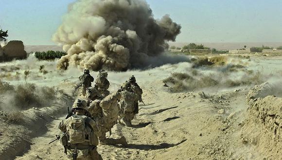 Una operación de soldados del Ejército de Estados Unidos en Afganistán el 23 de septiembre de 2012. (Foto de Tony KARUMBA / AFP).