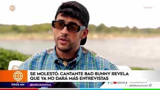 Bad Bunny tomó una drástica decisión tras incómoda entrevista