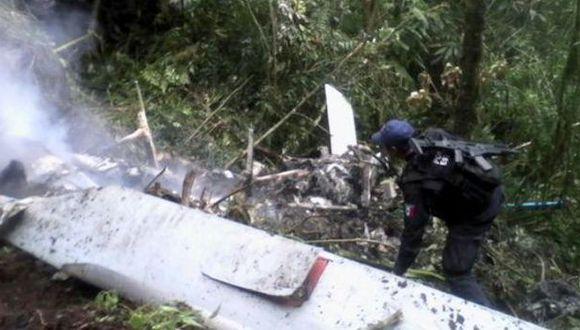 México: Tres muertos por desplome de helicóptero en Oaxaca