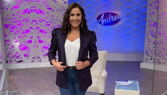 """Andrea Llosa regresa con """"Andrea"""", habla de su relación con Magaly Medina y la demanda de Carlos Cáceda. (Foto: ATV)"""