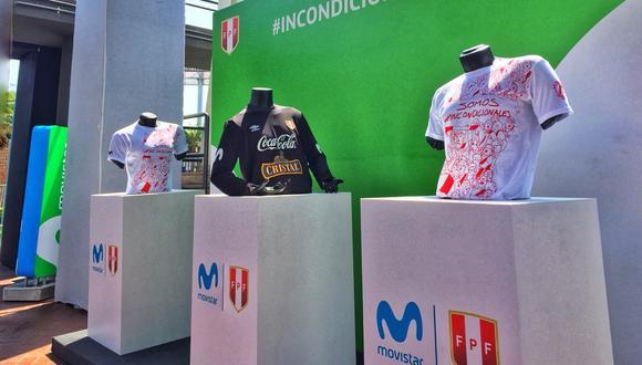 La selección peruana suma un nuevo patrocinador a su cartera. Desde que clasificó al mundial, marcas como, Gloria, BBVA y Marathon ya hicieron públicos sus contratos.. (Foto: Movistar)