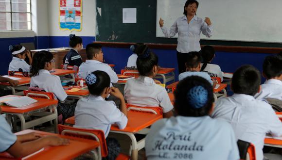 El Ministerio de Educación habilitó la plataforma 'Matricula2020' que en 48 horas habilitará el registro del trámite de traslado a colegios públicos. (GEC/Piko Tamashiro)