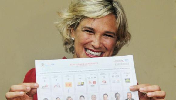 Ecuador: Cynthia Viteri apoyará a Lasso en segunda vuelta