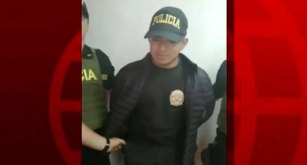 El sujeto fue denunciado por el delito de usurpación de funciones. (Foto: Captura/América Noticias)