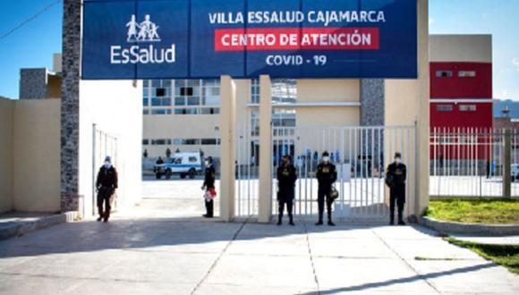 Cajamarca: conforme aumente el número de pacientes, también se incrementará más personal de salud, informó Essalud (Foto: Essalud)