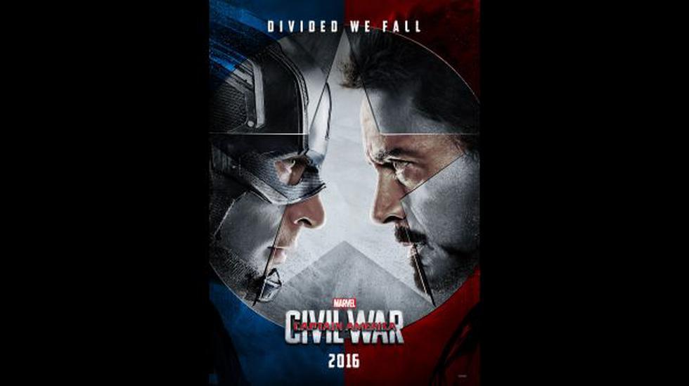 """""""Capitán América"""": salieron los primeros pósters de """"Civil War"""" - 1"""