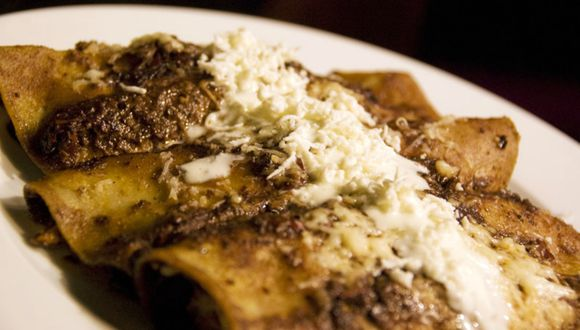 Enchiladas de pollo. (Tavallai|Flickr)
