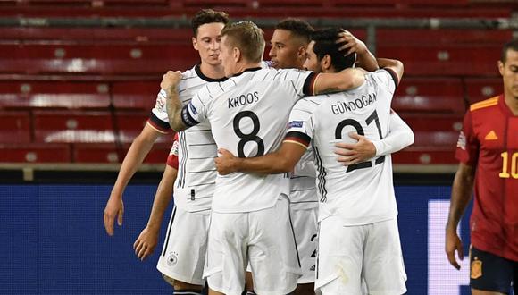 Alemania se enfrenta a Suiza tras empatar 1-1 con España en el jornada inicial de la UEFA  Nations League. Foto: AFP