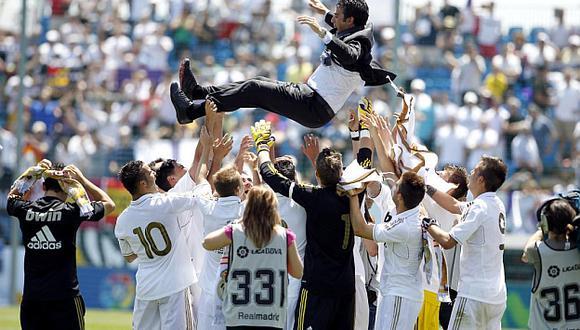 El caso de un jugador de un Real Madrid campeón de La Fábrica. (Foto: Marca)