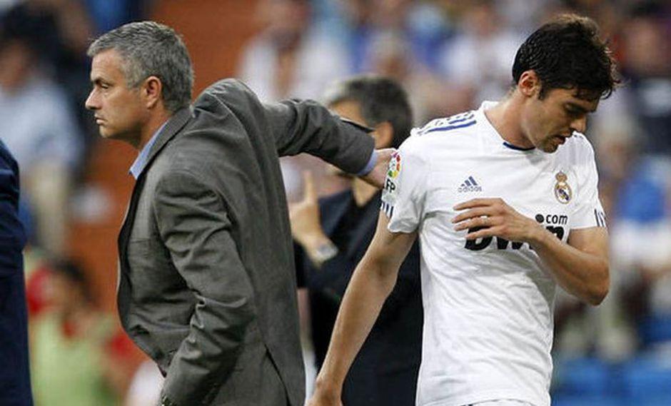 El ex futbolista Kaká, se manifestó sobre la complicada etapa que le tocó vivir en el Real Madrid. El brasileño mencionó a José Mourinho como uno de sus grandes obstáculos en la 'Casa Blanca' (Foto: AFP)