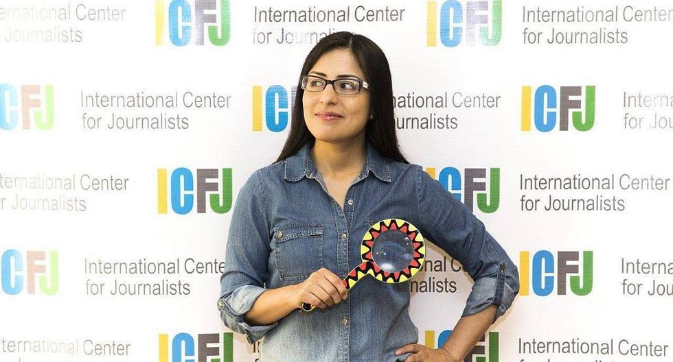 """Fabiola Torres trabajó varios años en El Comercio. Hace un año fundó SaludconLupa.com. """"Las buenas decisiones políticas y económicas impactan directamente en la salud y por eso es necesario investigarla de manera transversal"""", señala."""
