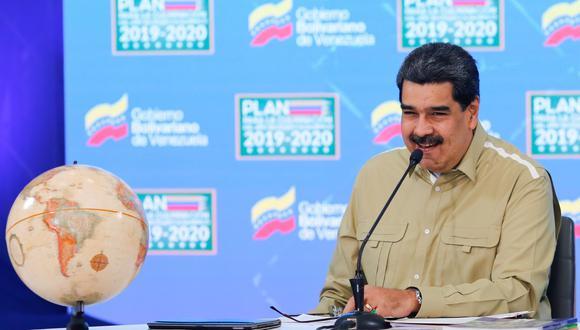 Nicolás Maduro trata de frenar la inflación en Venezuela agravada por la pandemia de coronavirus. (Foto: EFE/EPA/Miraflores Palace Press Office).