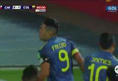 Chile vs. Colombia: Radamel Falcao anotó el 2-2 en el último suspiro del partido | VIDEO