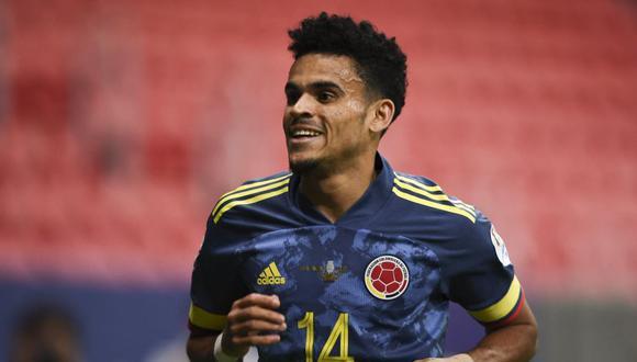 Luis Díaz, tras brillar en la Copa América, subió su cotización a 80 millones de euros | Foto: AFP