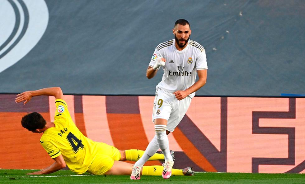 Real Madrid enfrentó al Villarreal por LaLiga | Foto: EFE/AP/AFP