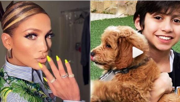 Jennifer Lopez presentó al nuevo integrante de su familia con un emotivo video compartido en Instagram (Foto: Instagram)