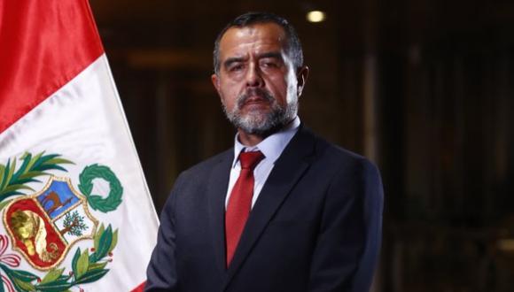 Íber Maraví, ministro de Trabajo, negó vínculos con Movadef. (Foto: Difusión)