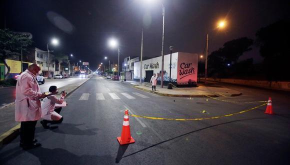 El crimen ocurrió en la cuadra 13 de la avenida José Gálvez en Bellavista. (Foto: César Grados/GEC)