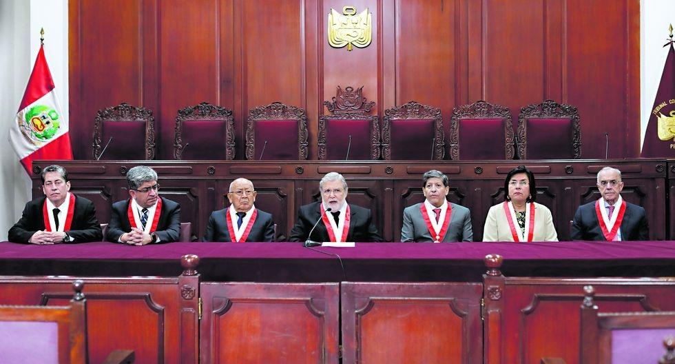 El TC evalúa el recurso que presentó Pedro Olaechea contra el Ejecutivo por la disolución del Congreso. Será la octava controversia litigada entre poderes del Estado (Foto: GEC).