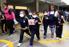 Moquegua: restablecen clases en colegios afectados por ceniza de volcán Ubinas