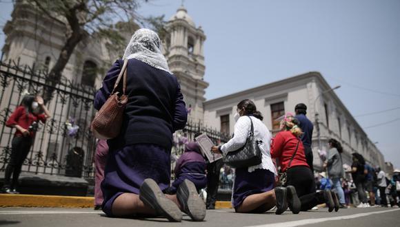 Presidente Martín Vizcarra anunció ajuste a protocolos luego del anuncio que templos abrirán de forma gradual en la segunda quincena de noviembre. (Foto: Anthony Niño de Guzmán / @photo.gec)