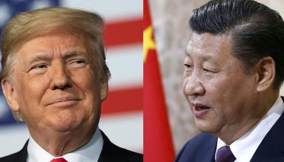Donald Trump y Xi Jinping. (Foto: AFP)