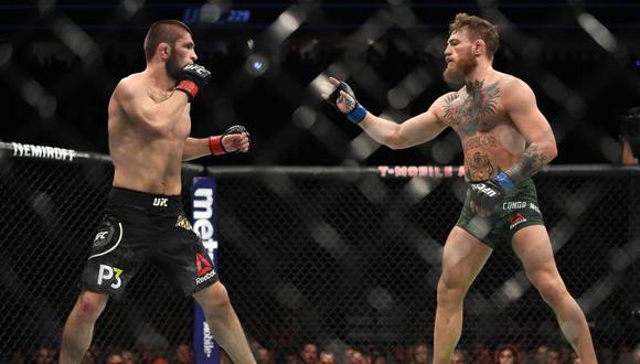 Conor McGregor escribió un mensaje de respeto para Khabib Nurmagomedov tras su triunfo en UFC 254 | Foto: UFC