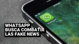 """WhatsApp activa una nueva función para """"verificar"""" mensajes reenviados"""