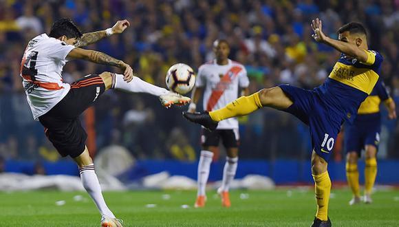 El líder River Plate visita a Tucumán y Boca recibe en La Bombonera al Gimnasia de Diego Maradona. (Getty Images)