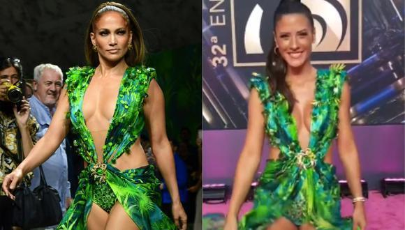 María Pía Copello asistió a la gala de los Premios Lo Nuestro 2020. (Foto: AFP/Captura Instagram)