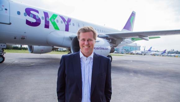 Holger Paulmann deja la gerencia general de Sky luego de seis años. (Foto: Massnegocios)