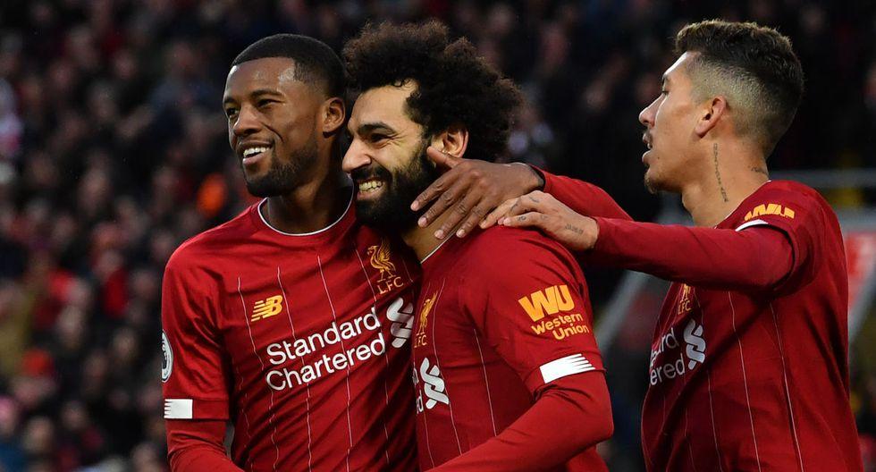 Liverpool enfrentará al West Ham United por la Premier League. Revisa los horarios y canales de todos los partidos de hoy, lunes 24 de febrero. (AFP)