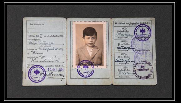 Kurt, el niño que fue dejado atrás por su madre en la Viena nazi.