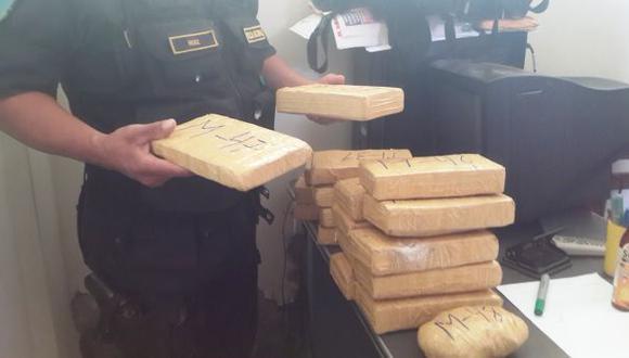 Huamanga: PNP decomisó 130 kilos de droga en dos viviendas
