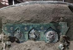 """La """"excepcional"""" carroza descubierta por los arqueólogos en las ruinas romanas de Pompeya"""